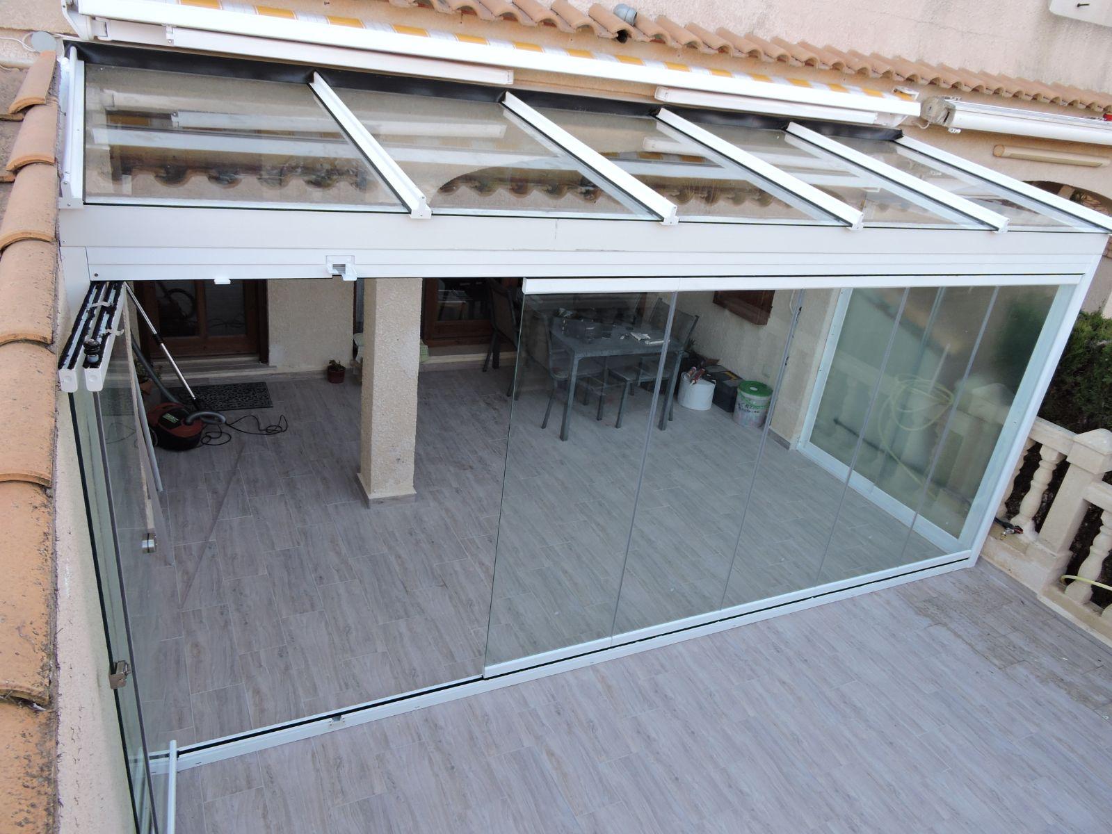 cerramiento de cristal terraza